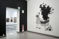 Dark Ink - 2010, installation view 2, Turku Art Museum, Finland