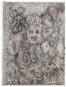 'Grey Area': THE TWILIGHT / SKUMRINGEN  - 2016, 76 x 57 cm., Ink, pencil, salt on paper.