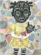 Girlhood - 2015, 31 x 23 cm., Akvarel, tusch og blyant på papir.
