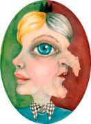 Kyklop /Cyklop - Akvarel på papir. 2017. 44x32