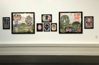 """Den Frie - """"Drawing Attention"""", Installation Shot, Den Frie udstillingsbygning, 2019"""