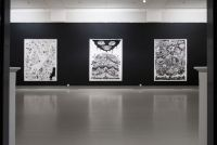 Dark Ink - 2010, installation view 3, Turku Art Museum, Finland