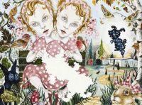 The Girl Next Door - 57x76 cm. Watercolour on paper