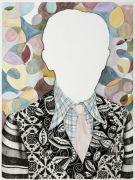 Hans - 2012, 57x40 cm. Akvarel og filtpen på papir.