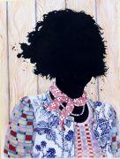 Solveig - 2012, 57x40 cm. Akvarel og filtpen på papir.