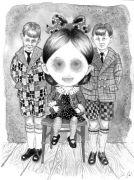 Little_Sister - _ 2014, 31 x 23 cm., tush og blyant på papir.